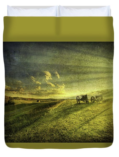 Days Done Duvet Cover by Mark T Allen