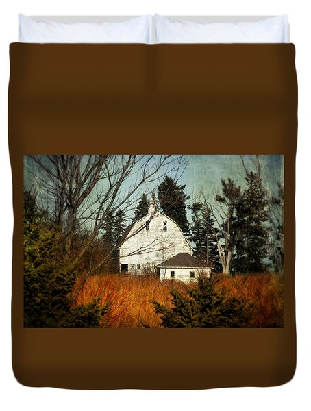 Duvet Cover featuring the photograph Days Gone By by Julie Hamilton