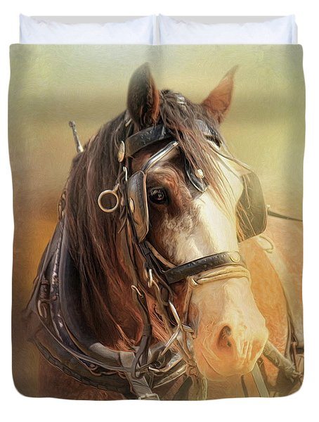 Days In The Sun Duvet Cover by Trudi Simmonds