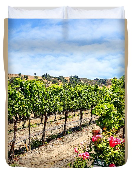 Days Of Vines And Roses Duvet Cover