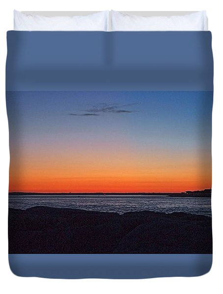 Duvet Cover featuring the photograph Days Pre Dawn by  Newwwman