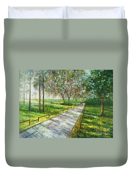 Dayspring Retreat Duvet Cover