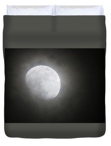 Daytona Moon Duvet Cover by Kathy Long