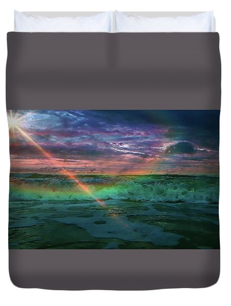 Daytona Rainbow Duvet Cover