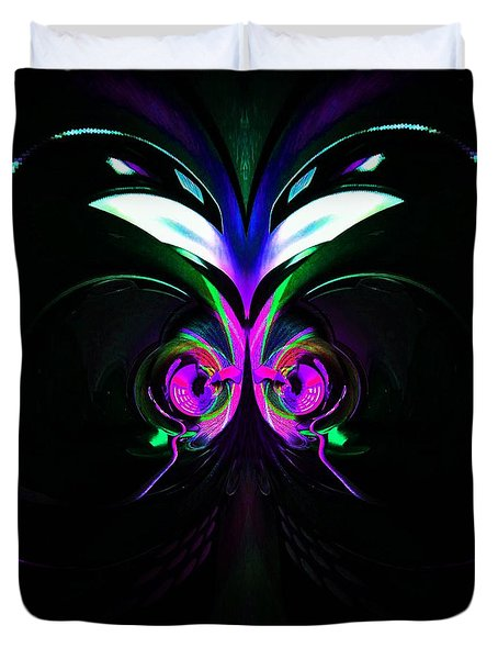 Dazed And Confused Duvet Cover by Blair Stuart