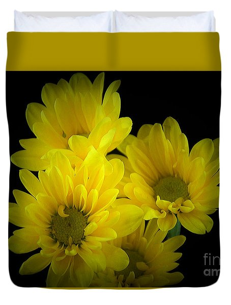 Dazzling Yellow Duvet Cover
