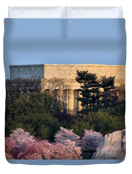 Capitol Spring Morning Duvet Cover