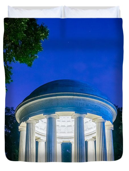 Dc War Memorial Duvet Cover