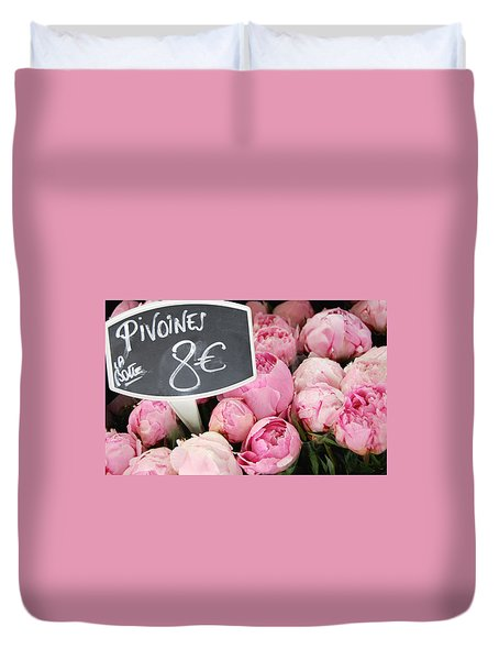 De Couleur Rose Duvet Cover