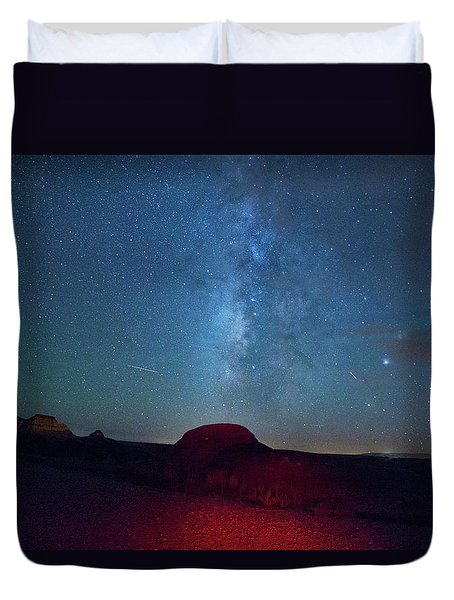 De Na Zin Milky Way Duvet Cover