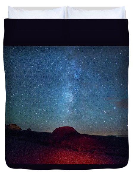De Na Zin Milky Way Duvet Cover