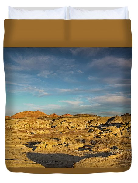 De Na Zin Wilderness Sunset Duvet Cover