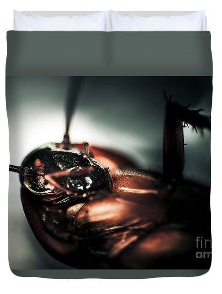 Dead Cockroach Duvet Cover