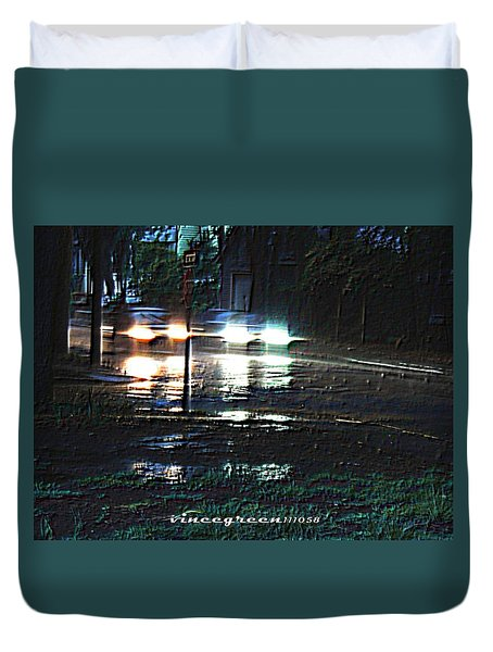 Dead Heat Duvet Cover