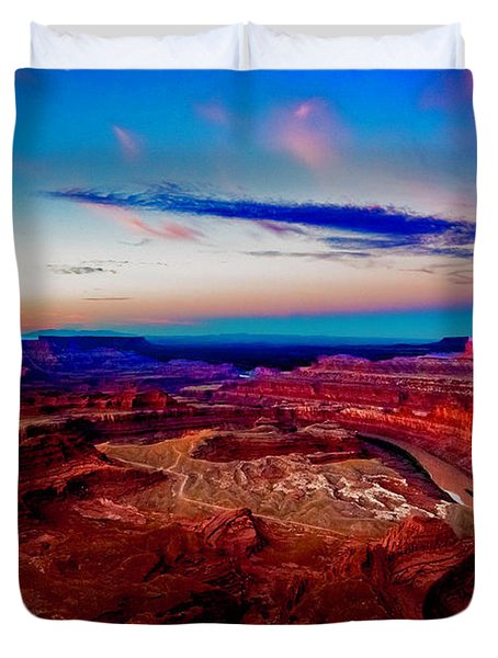 Dead Horse Point Duvet Cover