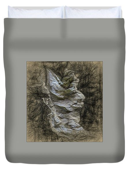 Dead Leaf Duvet Cover