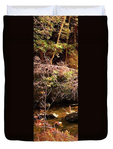 1 Of 6 Dead River Falls  Marquette Michigan Section Duvet Cover