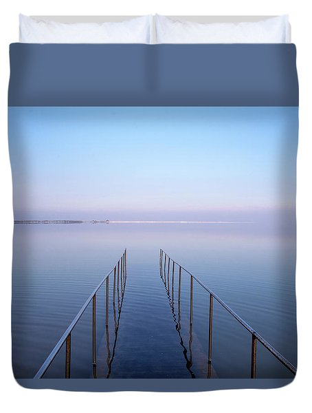 The Dead Sea Duvet Cover