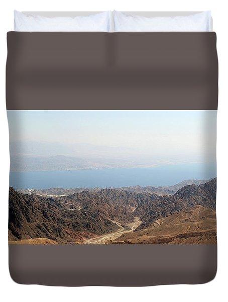 Dead Sea-israel Duvet Cover