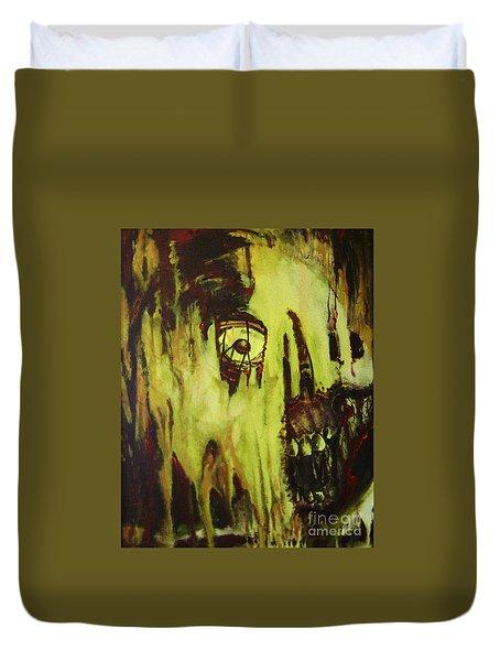 Dead Skin Mask Duvet Cover