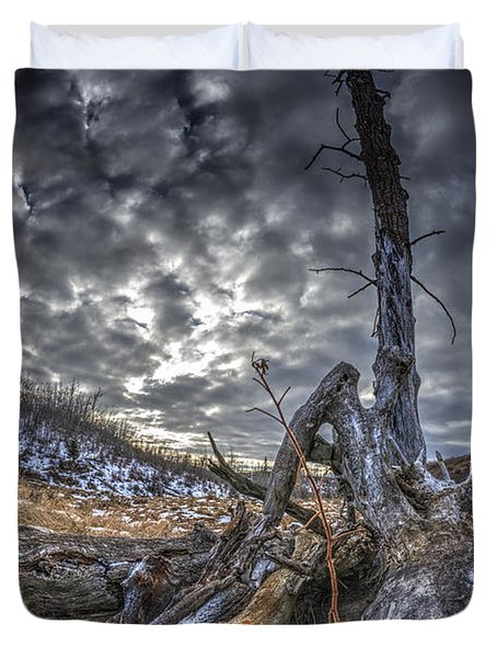 Dead Tree Duvet Cover