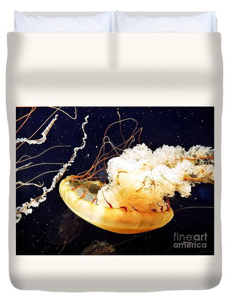Deadly Beauty Duvet Cover