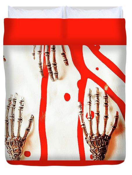 Deadly Design Duvet Cover