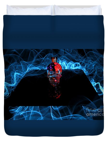Deadly Drinks Duvet Cover by Roddy Atkinson