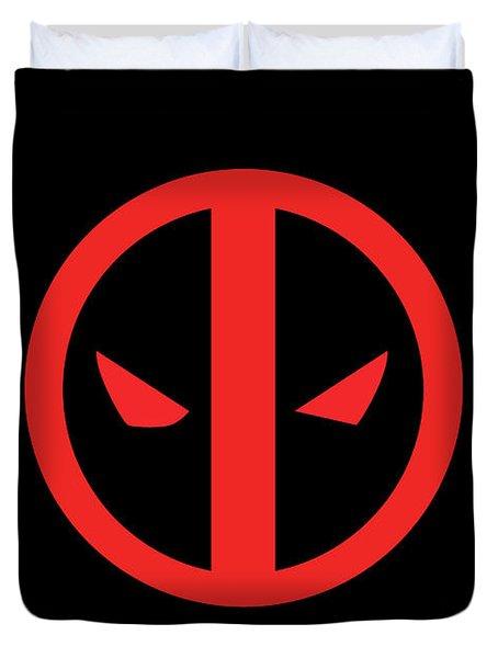 Deadpool Duvet Cover by Caio Caldas