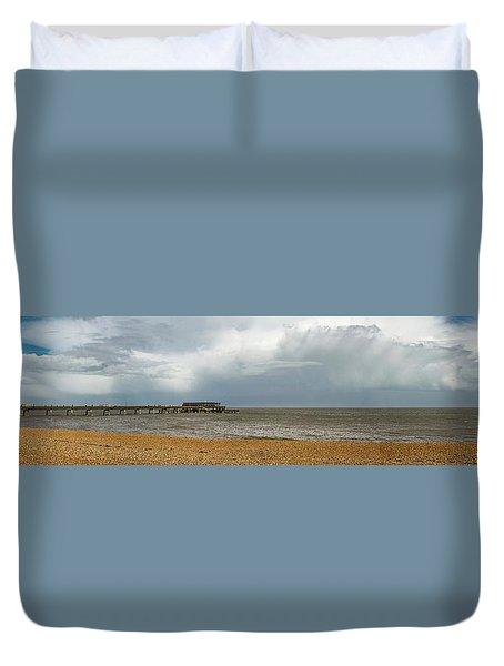 Deal Pier Duvet Cover