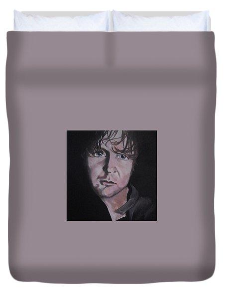 Dean Ambrose Portrait Duvet Cover by Susan Solak