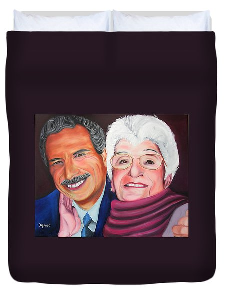 Dean And Frances Duvet Cover