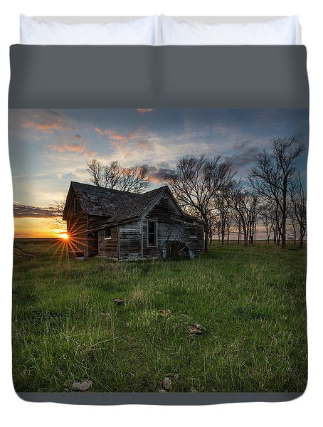 Dearly Departed Duvet Cover by Aaron J Groen