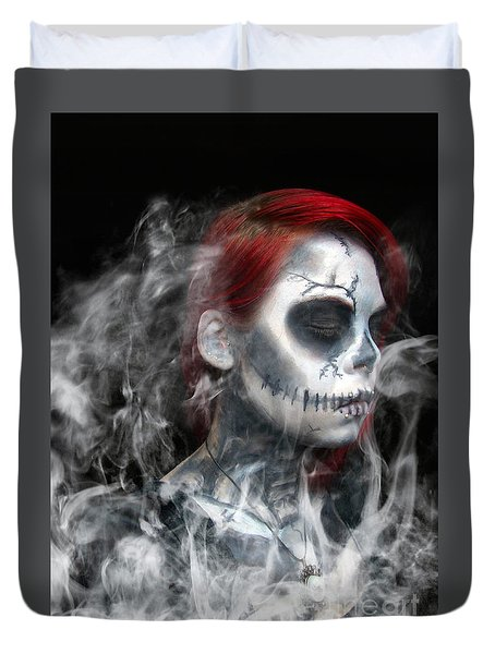 Death Becomes Us Duvet Cover