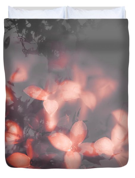 Death Blooms Duvet Cover