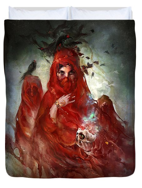 Death Duvet Cover