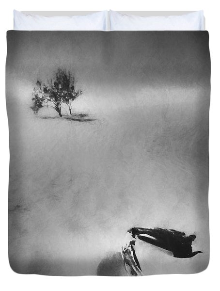 Death Valley 1990 Duvet Cover