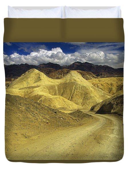 Death Valley, California Duvet Cover