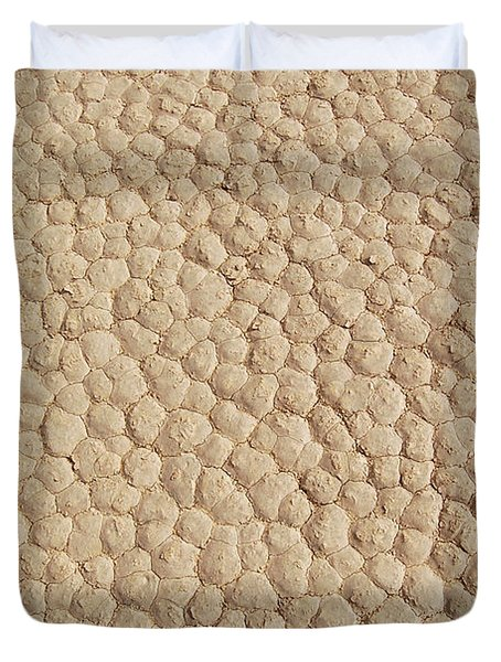 Death Valley Mud Duvet Cover