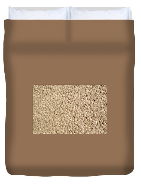 Death Valley Mud Duvet Cover