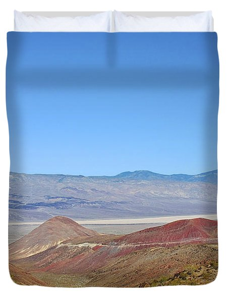 Death Valley National Park - Eastern California Duvet Cover by Christine Till