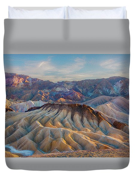 Death Valley Palette  Duvet Cover