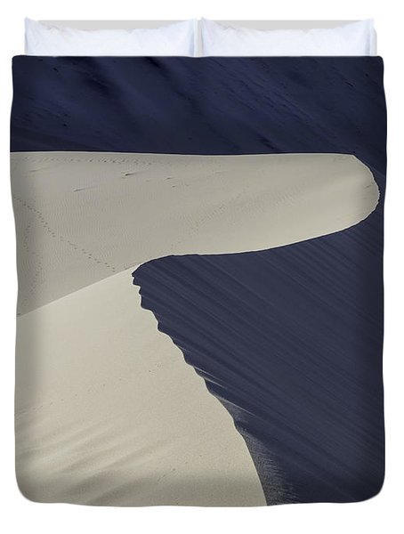 Death Valley Sand Dune Duvet Cover