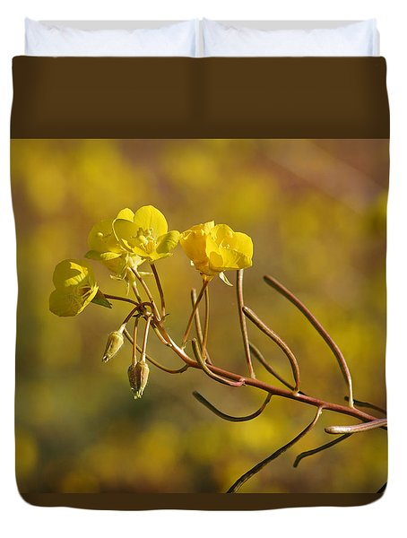 Death Valley Superbloom 301 Duvet Cover by Daniel Woodrum
