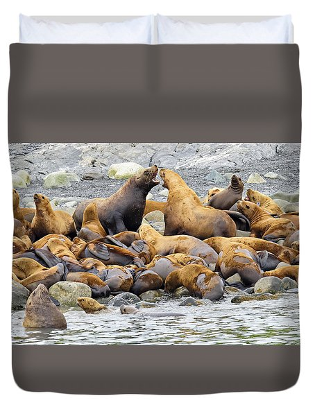 Debate Duvet Cover