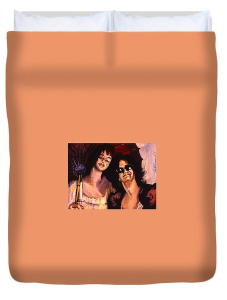 Debbie And Kate Duvet Cover