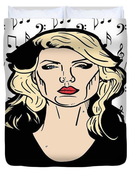 Debbie Harry  Duvet Cover