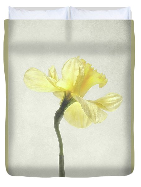 Decadent Daffodil Duvet Cover by Kathi Mirto