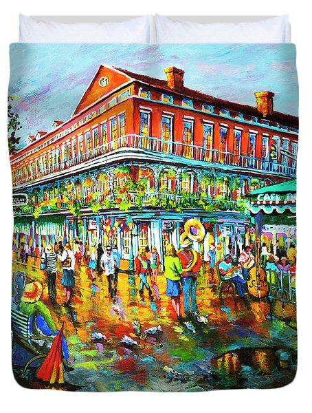 Decatur Evening Duvet Cover