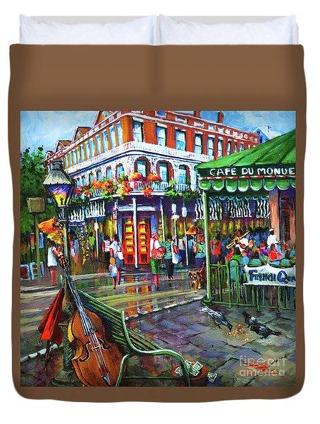 Decatur Street Duvet Cover